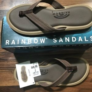 NWT Women's Rainbow Islander Sandal Size 9